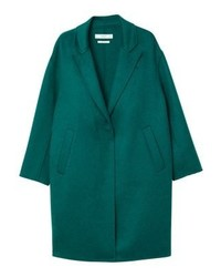 Mango Shadow Classic Coat Green