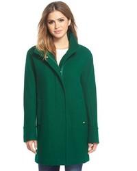 Ellen Tracy Wool Blend Stadium Coat