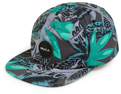 38bb4b0ab28 RVCA Jungle Print Baseball Cap