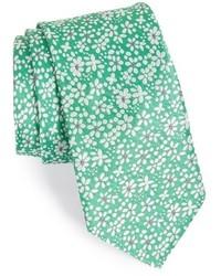 Floral silk tie medium 556107