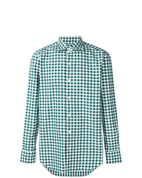Finamore 1925 Napoli Gingham Checked Shirt