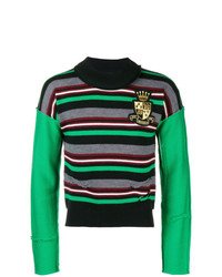 JW Anderson Deconstructed Striped Sweater