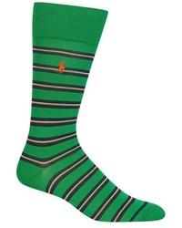 Graph stripe crew socks medium 544912