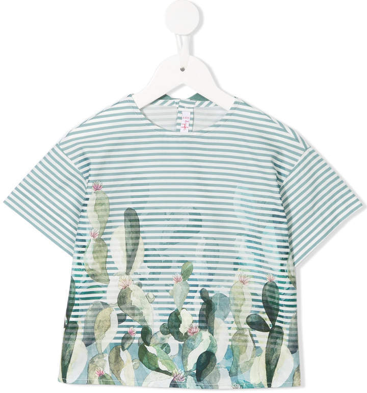 Il Gufo Striped T Shirt