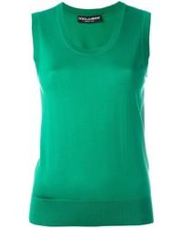 Fine knit sleeveless top medium 691283