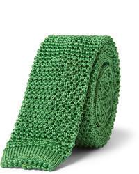 Knitted silk tie medium 60389