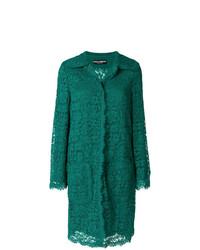 Dolce & Gabbana Lace Detailed Coat