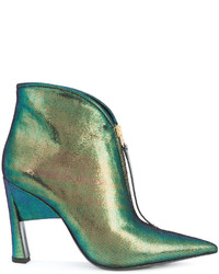 Marni Two Tone Sculptural Booties