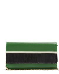Lanvin Lizard Effect Leather Clutch