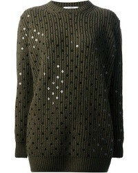 Givenchy Embellished Knit Sweater