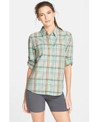 Overcast long sleeve plaid shirt medium 201036