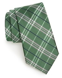 Shop urban plaid silk tie medium 962991