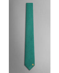 Burberry Dot Pattern Silk Tie