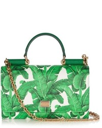 Dolce & Gabbana Von Banana Leaf Print Cross Body Bag