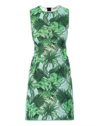 Emma Cook Tropical Print Neoprene Dress