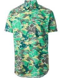 Comme des Garcons Comme Des Garons Shirt Printed Shirt