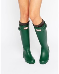 Original tour green collapsable wellington boots medium 774008