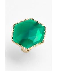 Lana Jewelry Envy Hexagon Stone Ring