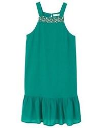 Mango Summer Dress Green