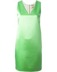 Fausto Puglisi V Neck Shift Dress