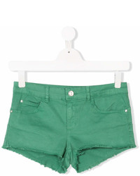 Liu Jo Kids Teen Raw Edge Denim Shorts