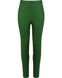 Andrea marques mid rise skinny trousers medium 535063