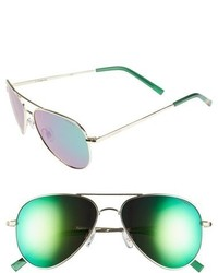 56mm polarized aviator sunglasses medium 745790