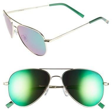6923615571 ... Polaroid 56mm Polarized Aviator Sunglasses ...