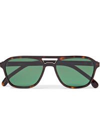 Paul Smith Alder Aviator Style Tortoiseshell Acetate Sunglasses
