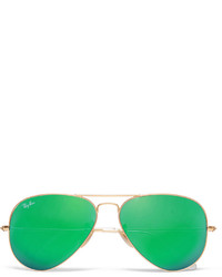 polarized mirrored aviator sunglasses cl0k  Ray-Ban Aviator Metal Mirrored Polarised Sunglasses Out of stock