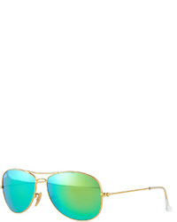 Ray-Ban Cockpit Pilot Sunglasses Goldgreen