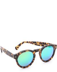 Leonard matte mirrored sunglasses medium 453390