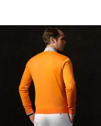 Ralph Lauren Purple Label Cashmere V Neck Sweater