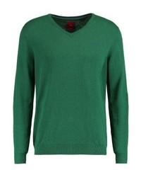 s.Oliver Jumper Cool Emerald Melange