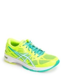 Green-Yellow Athletic Shoes