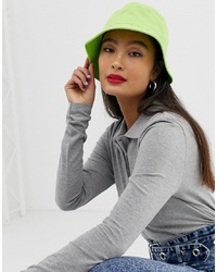 ASOS DESIGN Cotton Bucket Hat