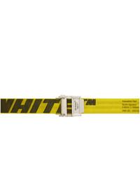 Green-Yellow Canvas Belt