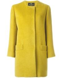 Etro Round Neck Short Coat