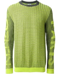 Logo intarsia sweater medium 148919