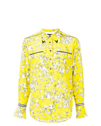Rag & Bone Floral Fitted Shirt