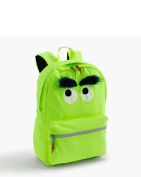 J.Crew Kids Max The Monster Furry Backpack