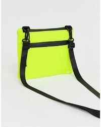 ASOS DESIGN Zip Front Cross Body Bag