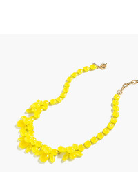 J.Crew Semitranslucent Crystal Necklace