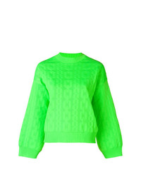 MSGM Chain Pattern Knitted Sweater