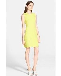 Narciso Rodriguez Asymmetrical Panel Sheath Dress