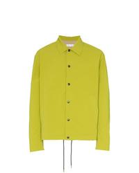 Cmmn Swdn Fluorescent Press Button Shirt Jacket