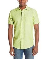 Green-Yellow Short Sleeve Shirt