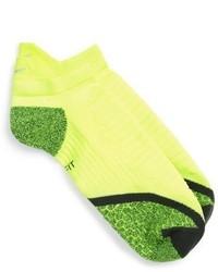 Nike Elite Cushioned No Show Tab Running Socks