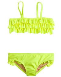 J.Crew Girls Ruffle Bikini Set