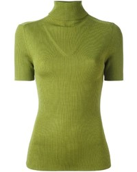 Green-Yellow Turtleneck